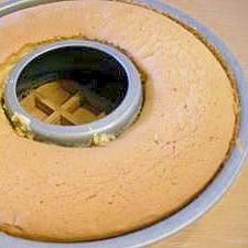 シフォンケーキ風なカステラケーキ