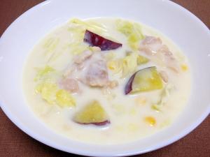 キャベツ消費☆鶏肉とキャベツのクリームシチュー
