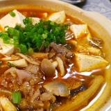キムチ牛肉豆腐鍋