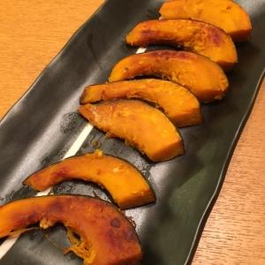 かぼちゃのガーリックソテー