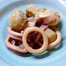 時短で作るイカとサトイモの煮つけ