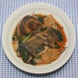 ためしてガッテン☆小松菜☆カレイの干物で韓国風鍋