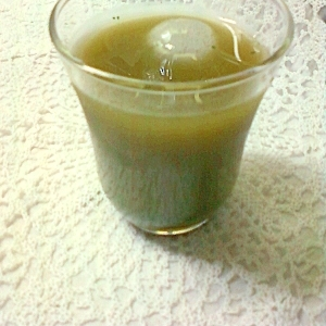 涼しげで爽やかに☆抹茶入りチョコシロップ緑茶☆*'