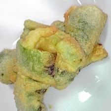 ピーマンの天ぷら★簡単★お菓子作りの余った卵白で