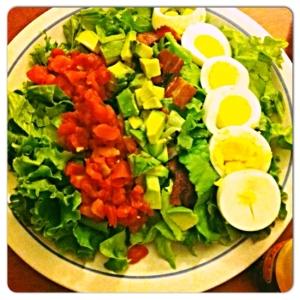 栄養満点簡単コブサラダ