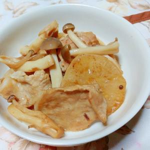 大根と豚肉の甘辛煮