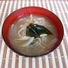 切干大根と玉ねぎの味噌汁