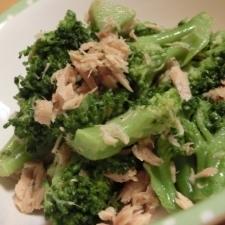 ♪ブロッコリーとツナのカレー風味サラダ♪