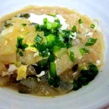 お粥に飽きたら、胃に優しい春簡単雨スープ