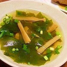 メンマのスープ