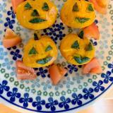 ハロウィンかぼちゃのサラダ