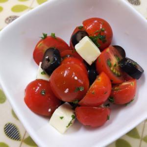 プチトマトのイタリアンサラダ