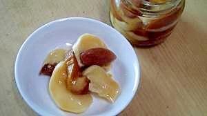 小蕪と干し杏の甘酸っぱい漬物