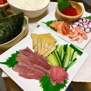 クリスマス手巻き寿司パーティ2016♡