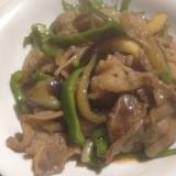 牛カルビの野菜炒め