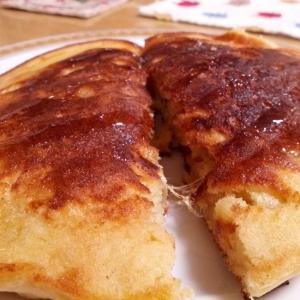 生姜のホットケーキ