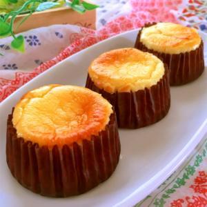 マフィン型で作る♪美味しいベイクドチーズケーキ
