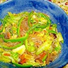 人気の韓国料理☆簡単チャプチェ