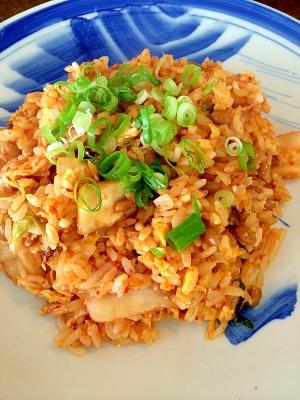 キムチ納豆チャーハン
