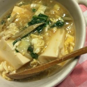 ★トロりん豆腐〜野菜と玉子入り