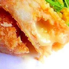鮭とチーズのコロッケ