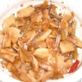 硬い筍と蕗のじっくり煮