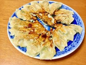 小松菜とシーチキンの餃子