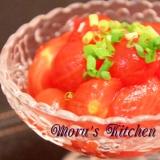 オシャレで簡単☆トマトの浅漬けサラダ
