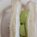 水切りヨーグルトでサンドイッチ
