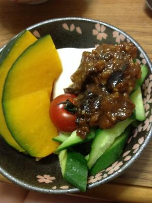 金山寺味噌サラダ