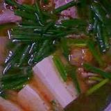 韓国風豆腐鍋