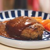洋食屋の味!肉汁じゅわ〜のハンバーグ