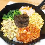 【スキレットで】野菜たっぷり!ビビンバ【石焼き風】