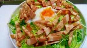 焼き豚サラダ