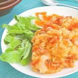 材料3つ☆キムチのポテトサラダ