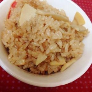 炊飯器de簡単☆たけのこご飯♡