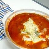 市販の素使いません!イタリアン風トマト鍋。