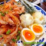 かき揚げ&卵の天ぷらです☆色々な具材でも楽しんで♪