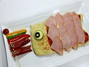 こいのぼりハムピザ&ウインナー★こどもの日に!