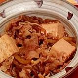 フライパンひとつで簡単肉豆腐