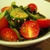きゅうりとトマトの酢の物