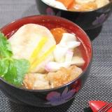 マ・ローニエプロ☆こんがり鶏肉と焼き餅のお雑煮