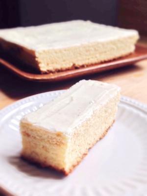 ホットケーキミックスを使って♪美味バームクーヘン☆