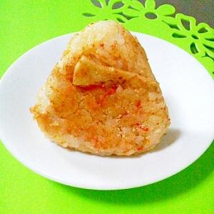 たけのこご飯リメイク*チーズ焼きおにぎり(京都府)