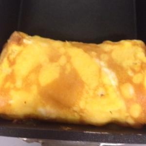 シンプルな卵焼き