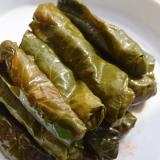トルコ料理風、小松菜でサルマ