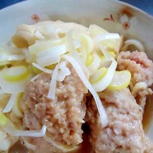 肉団子と豆腐煮