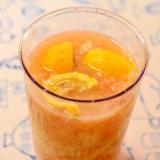 さっぱり☆酸っぱい♪桃とレモンのスムージー