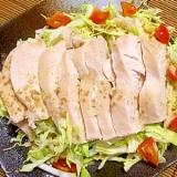 基本☆鶏肉の塩麹漬け~鶏ハム編~
