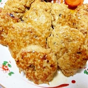 ヘルシー&ボリューム☆鶏つくねの照り焼き